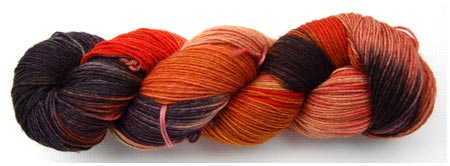 Dreamers Colours handdyed sock yarn