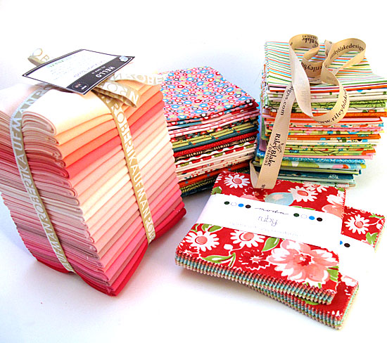 charm packs / fat quarter packs