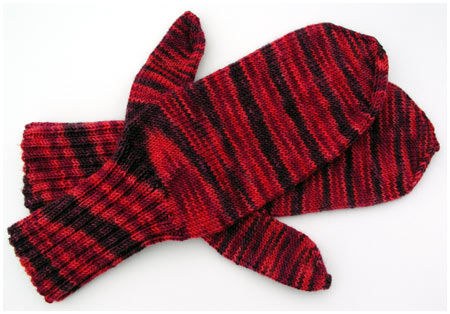 Socks That Rock Ruby Slippers Mittens