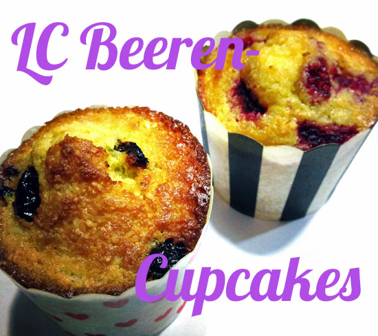 Low Carb Beeren-Cupcakes