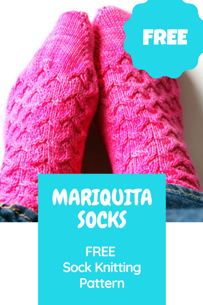 "FREE Sock Knitting Pattern - Wollhuhn Summer Sneakers No. 3 ""Mariquita"""